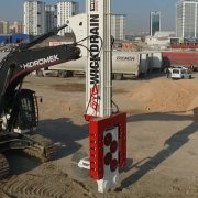 OMS Wick Drain Installation Machine