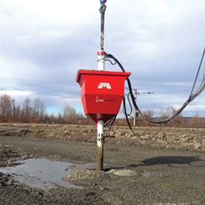 Soil Improvement with Bottom Feed Vibroflotation Method