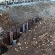 Driving Sheet Piles with OMS Vibro Hammers