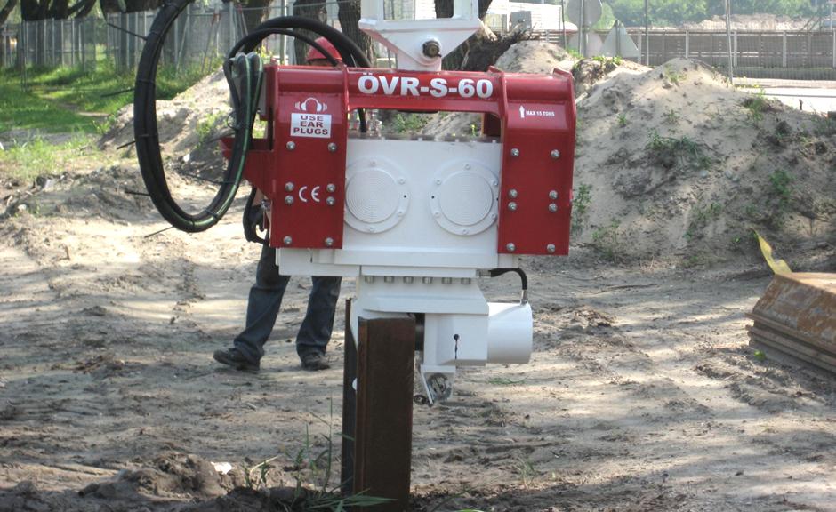 Excavator Mounted Vibro Hammer OVR 60 S