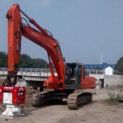 Excavator Mounted Vibro Hammer OVR 80 S