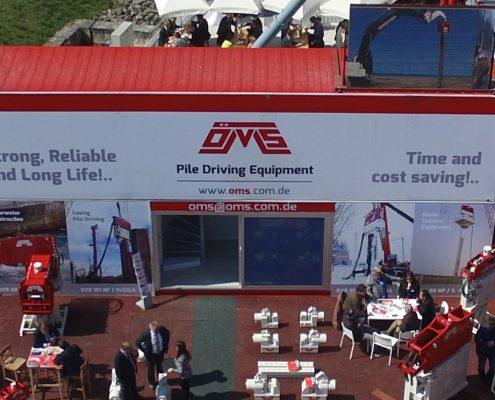 OMS Pile Driving Equipment on Bauma Fair