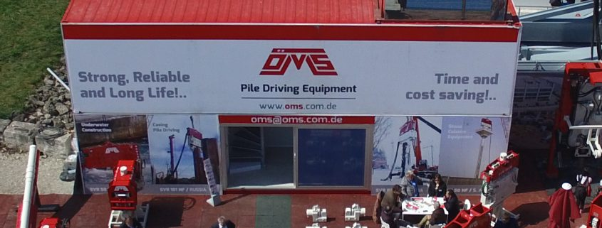 OMS Pile Driving Equipment on Bauma Fair