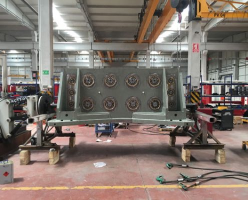 Production Process of Crane Suspended Vibro Hammer