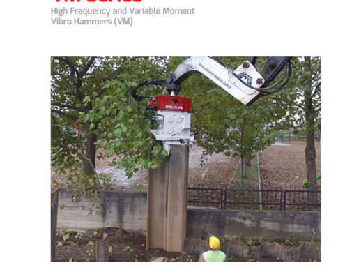 OMS - Variable Moment Vibratory Hammers