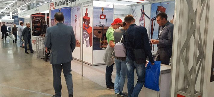 OMS Pile Driving Equipment GmbH Stand at CTT Fair 2016