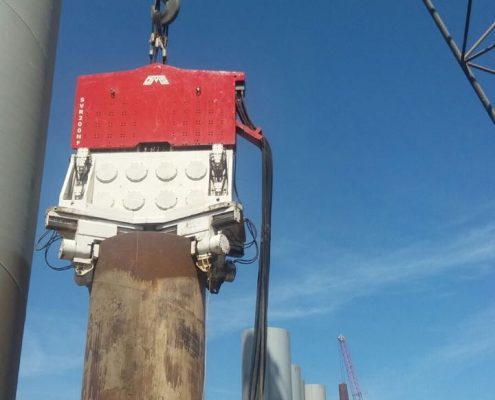 SVR 200 NF - Crane Suspended Vibratory Hammer with Hydraulic Clamp KCN Series